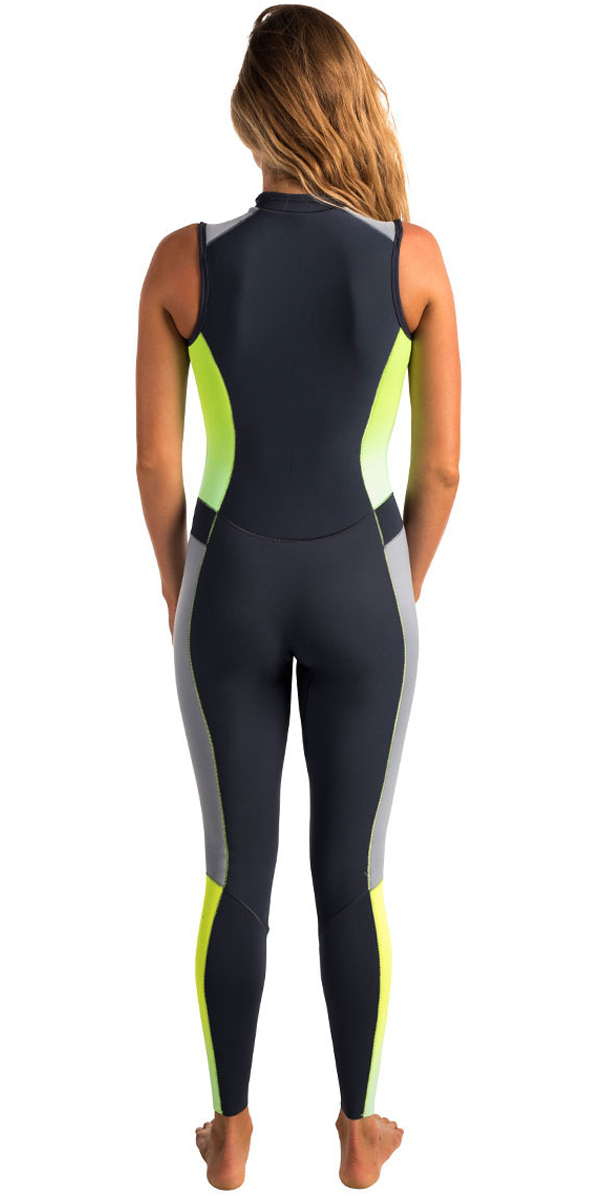 Rip Curl Womens G-Bomb 1.5mm Long Jane Wetsuit CHARCOAL WSM6AW