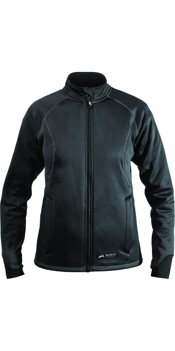 2019 Zhik ZFleece Womens Thermal Jacket Carbon JK211W