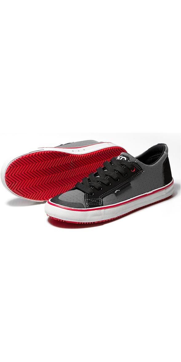 2018 Zhik ZKGs Amphibious Shoes Grey / Red SHOE20