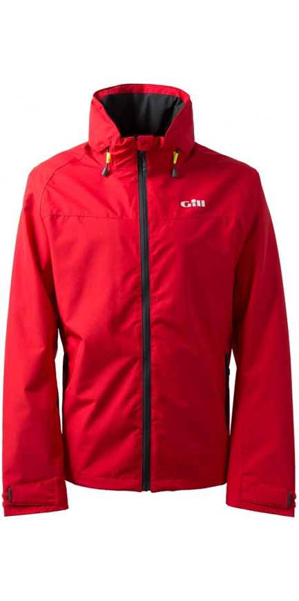 2019 Gill Mens Pilot Jacket IN81J & Trouser IN81T Combi Set Red / Graphite