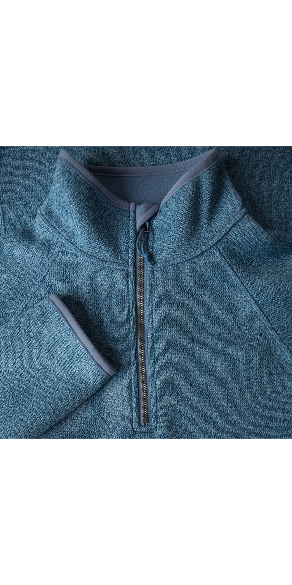 Gill Womens Knit Fleece in Blue Melange 1491W