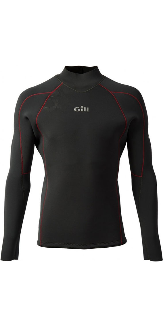 2019 Gill Race Firecell Long Sleeve Neoprene Top GRAPHITE / GREY RS17