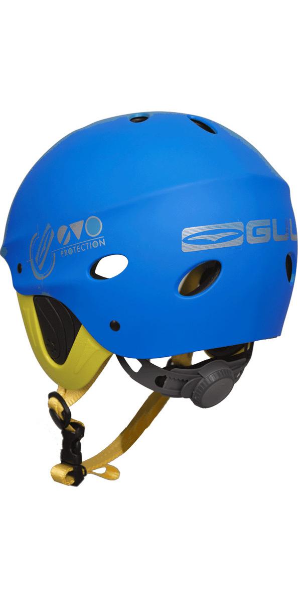 2018 Gul Evo Watersports Helmet BLUE / FLURO YELLOW AC0104-B3