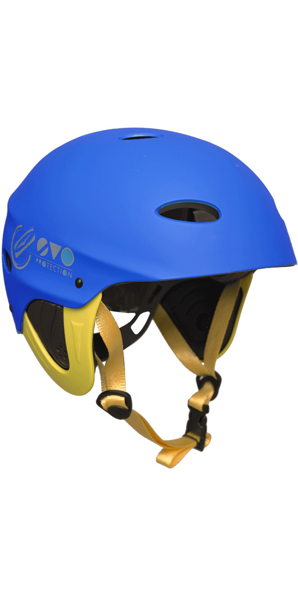 2018 Gul Evo Watersports Helmet BLUE / FLURO YELLOW AC0104-B3