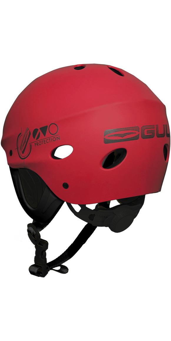 2018 Gul Evo Watersports Helmet RED AC0104-B3