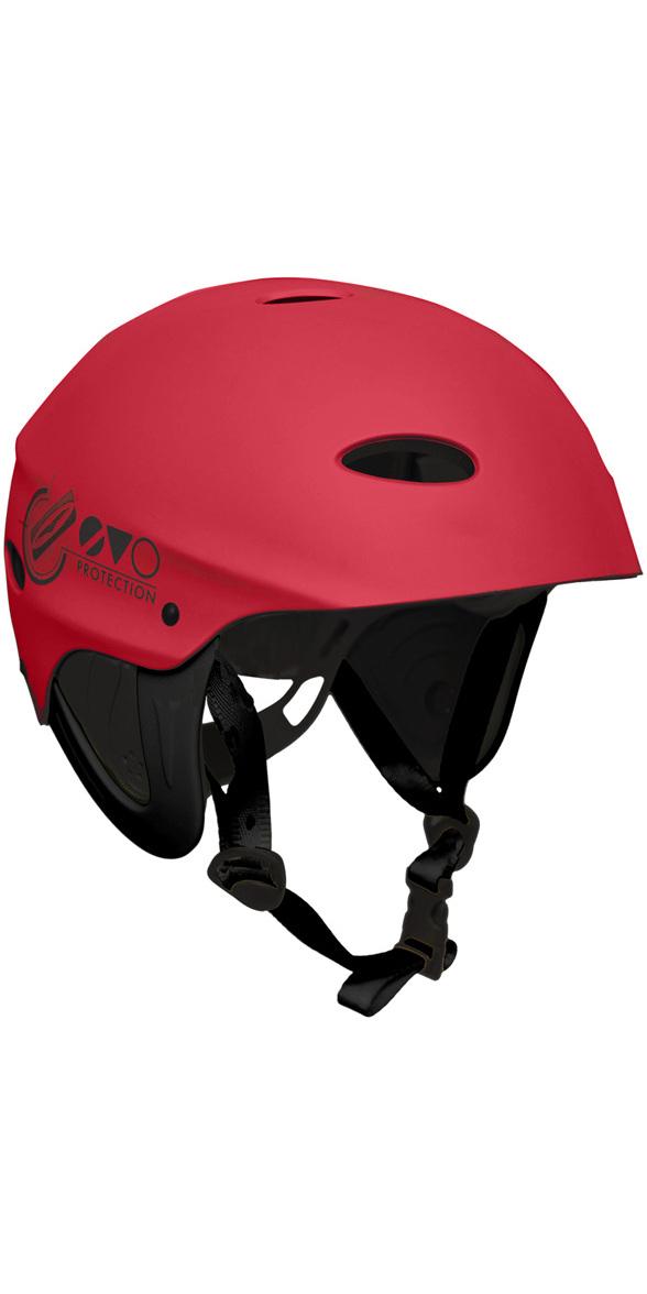 2019 Gul Evo Watersports Helmet RED AC0104-B3