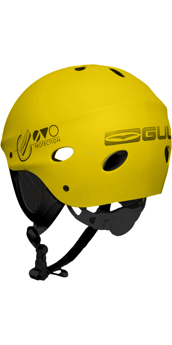2019 Gul Evo Watersports Helmet Yellow AC0104-B3