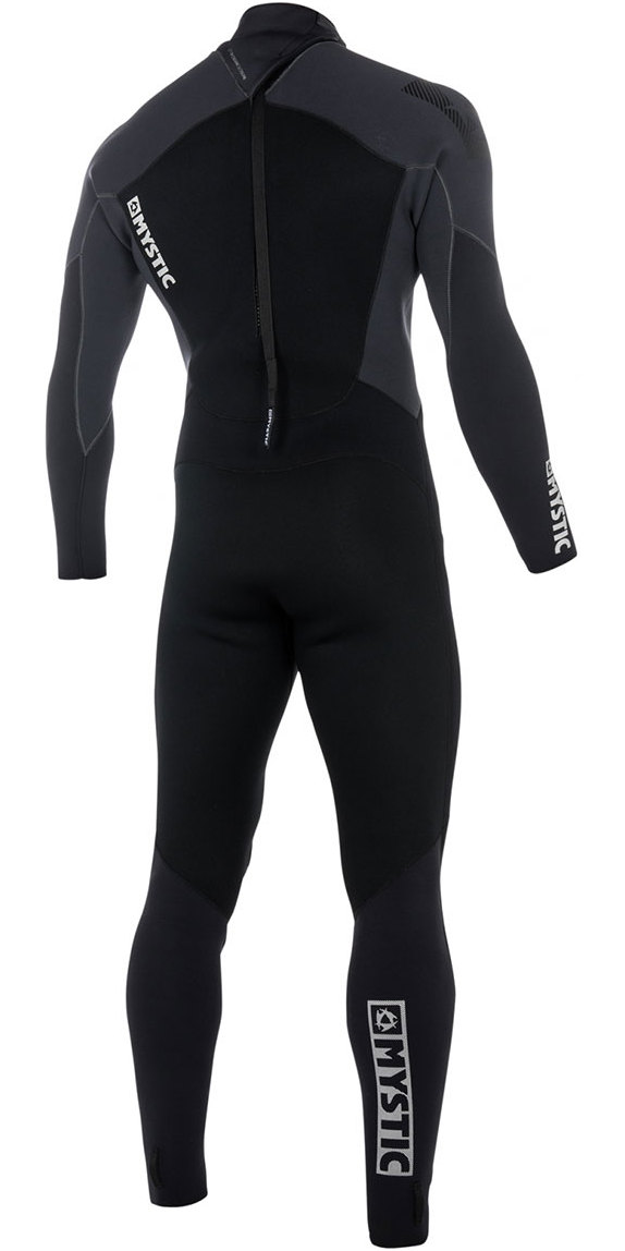 2019 Mystic Star 3/2mm GBS Back Zip Wetsuit - Black 180020