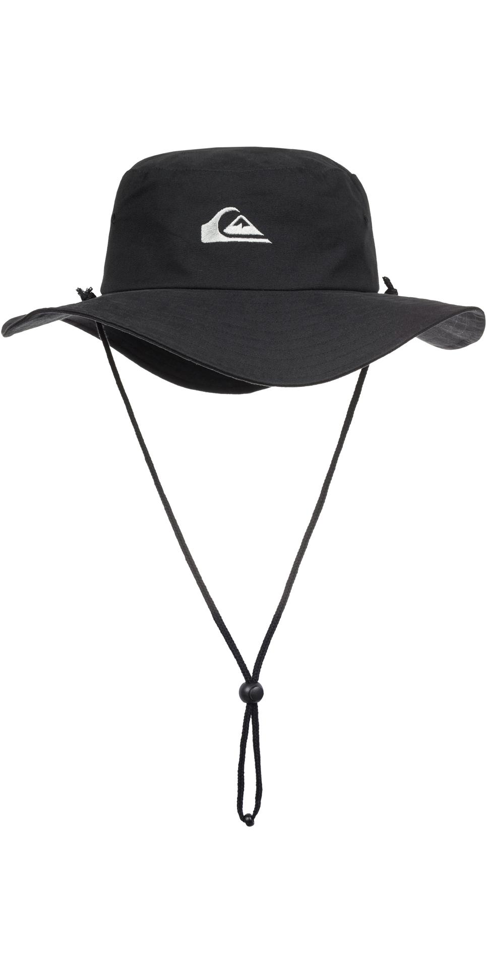 c2882c13a6122b 2019 Quiksilver Bushmaster Bucket Hat Black Aqyha03314 - Accessories - Mens  - Clothing | Wetsuit Outlet