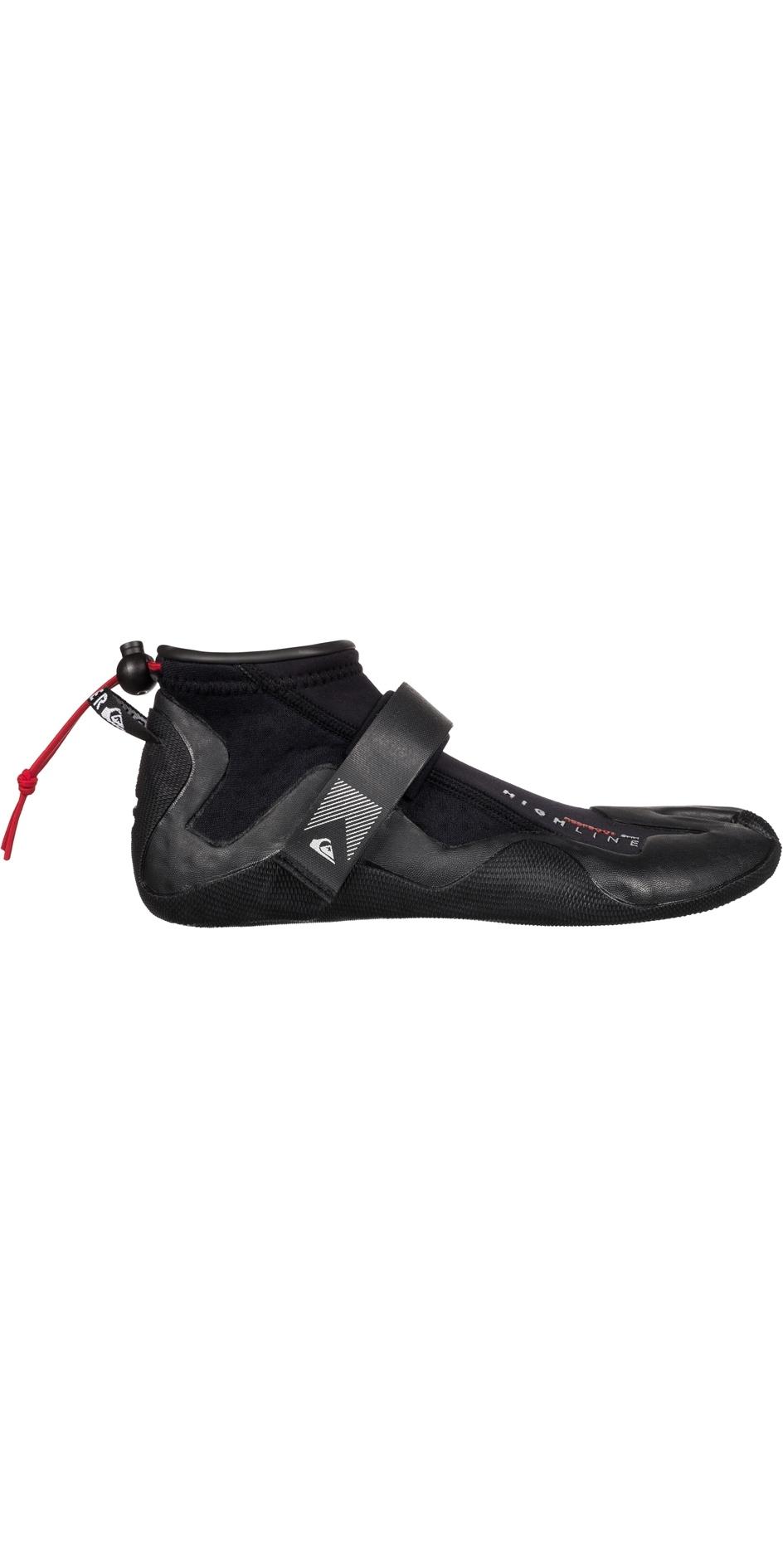 9db6252e0890cc 2019 Quiksilver Highline Reef 2mm Split Toe Neoprene Surf Shoe Black  Eqyww03004 - Wetsuit | Wetsuit Outlet