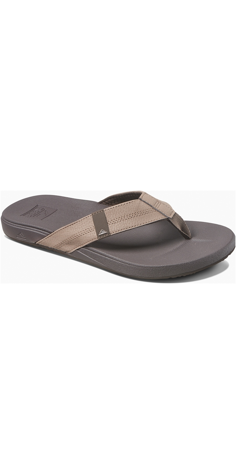 8cc708e978a3 Reef Mens Cushion Bounce Phantom Flip Flops Brown RF0A3FDI ...
