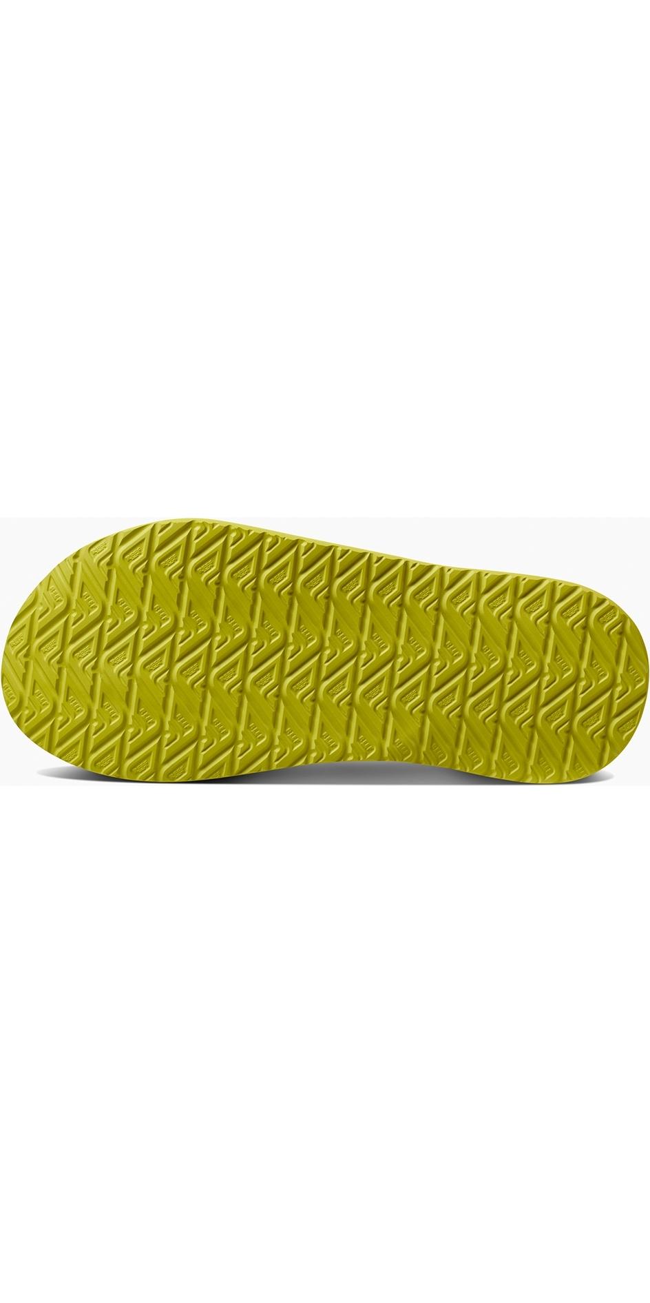 daeb639058bf 2019 Reef Mens Cushion Bounce Phantom Flip Flops Grey   Green RF0A3FDI ...