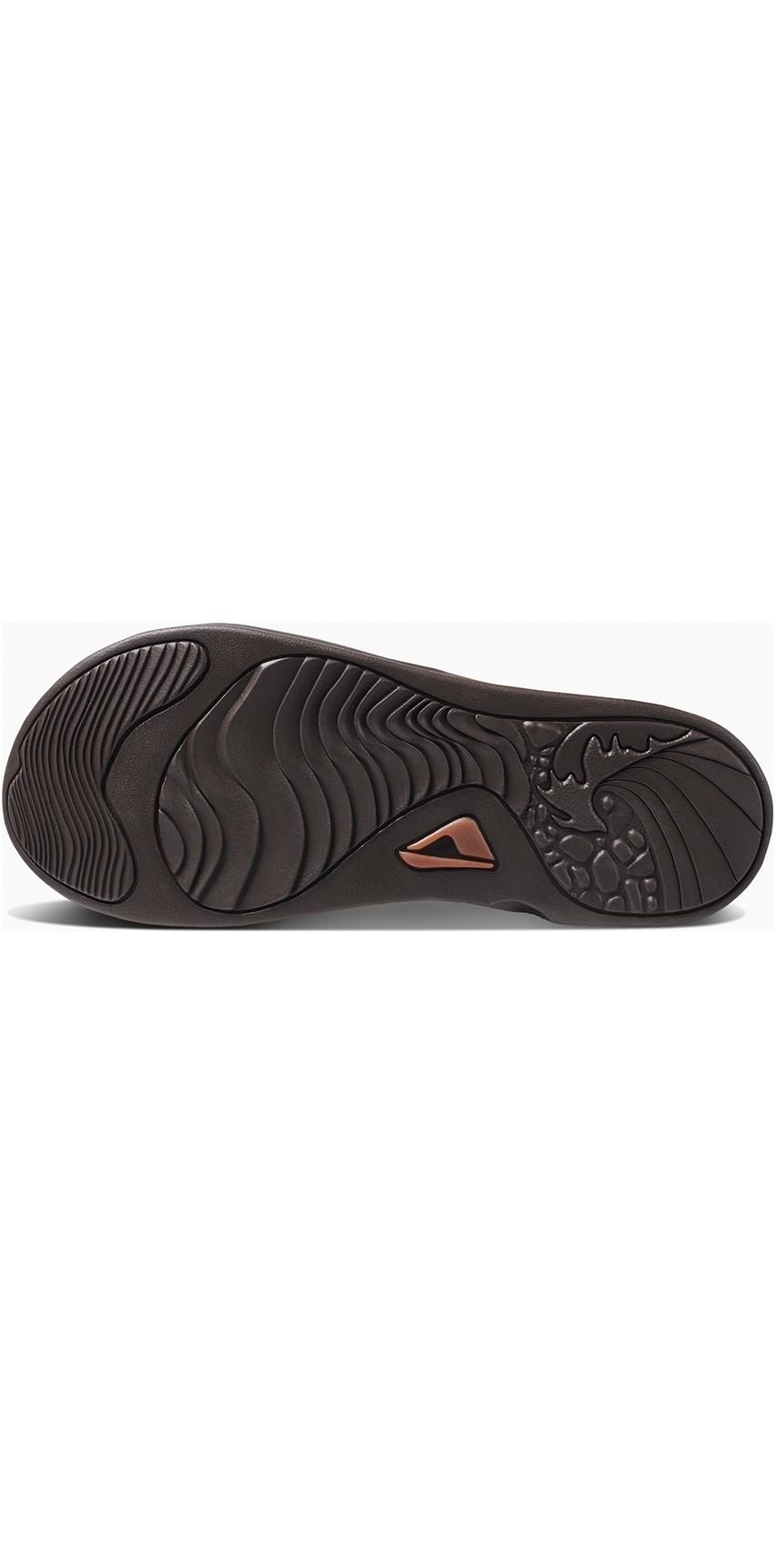 ad06ca1c0dfc 2019 Reef Mens J-Bay III Flip Flops Coffee   Bronze RF002616 ...
