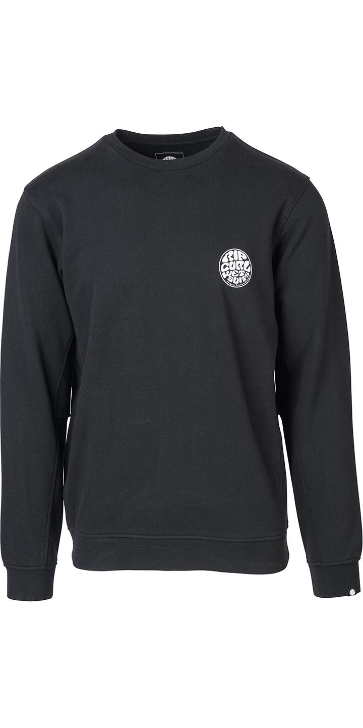 0452dfe5e9 2019 Rip Curl Mens Original Surfer Wetty Crew Jumper Black Cfetj4 -  Sweatshirts - Mens | Wetsuit Outlet