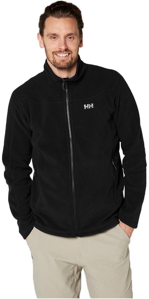 2019 Helly Hansen Mens Daybreak Fleece Jacket Black 51598