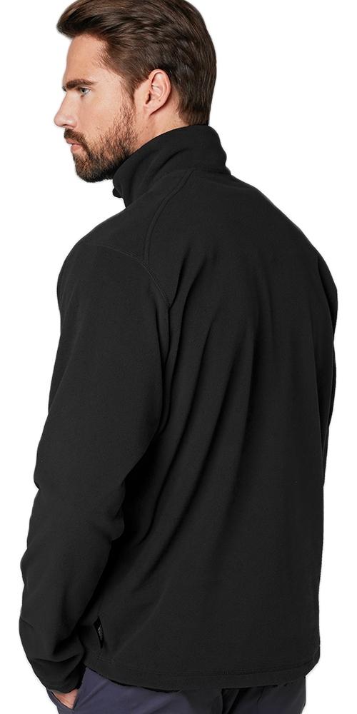 2019 Helly Hansen Mens Daybreaker 1/2 Zip Fleece Black 50844