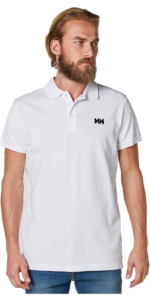 2020 Helly Hansen Transat Polo Shirt White 33980