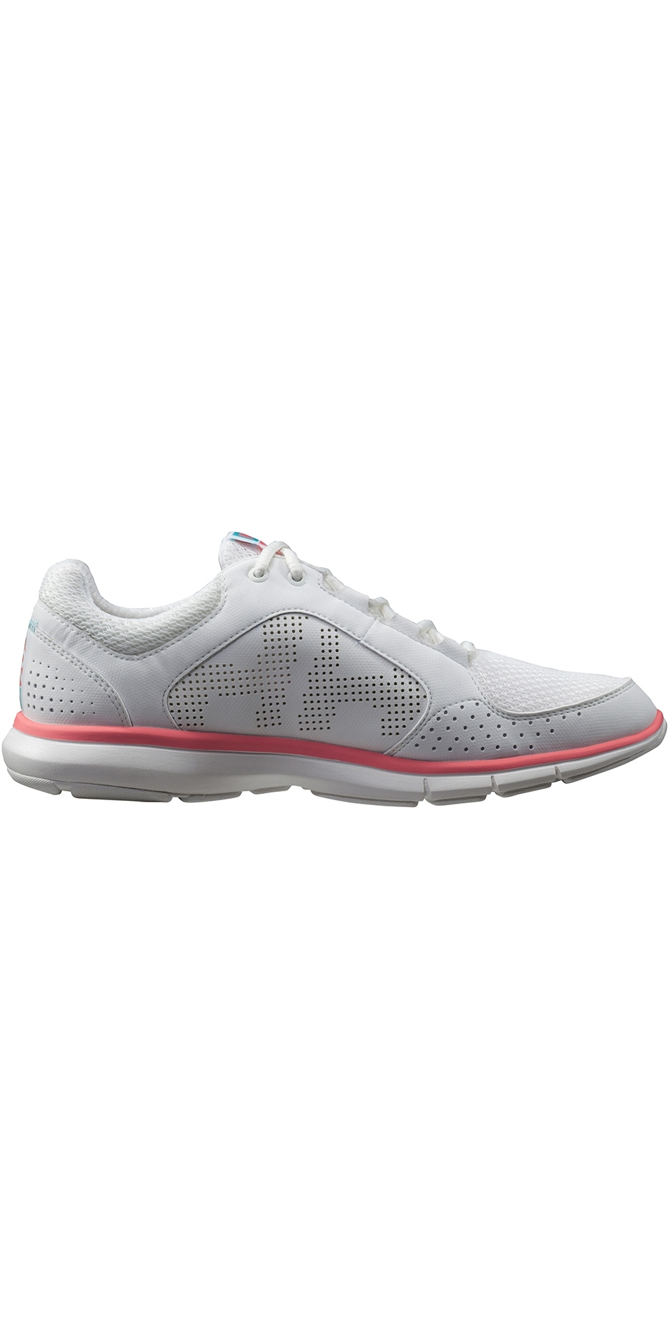 2019 Helly Hansen Womens Ahiga V3 Hydropower Shoe Off White / Shell Pink 11216