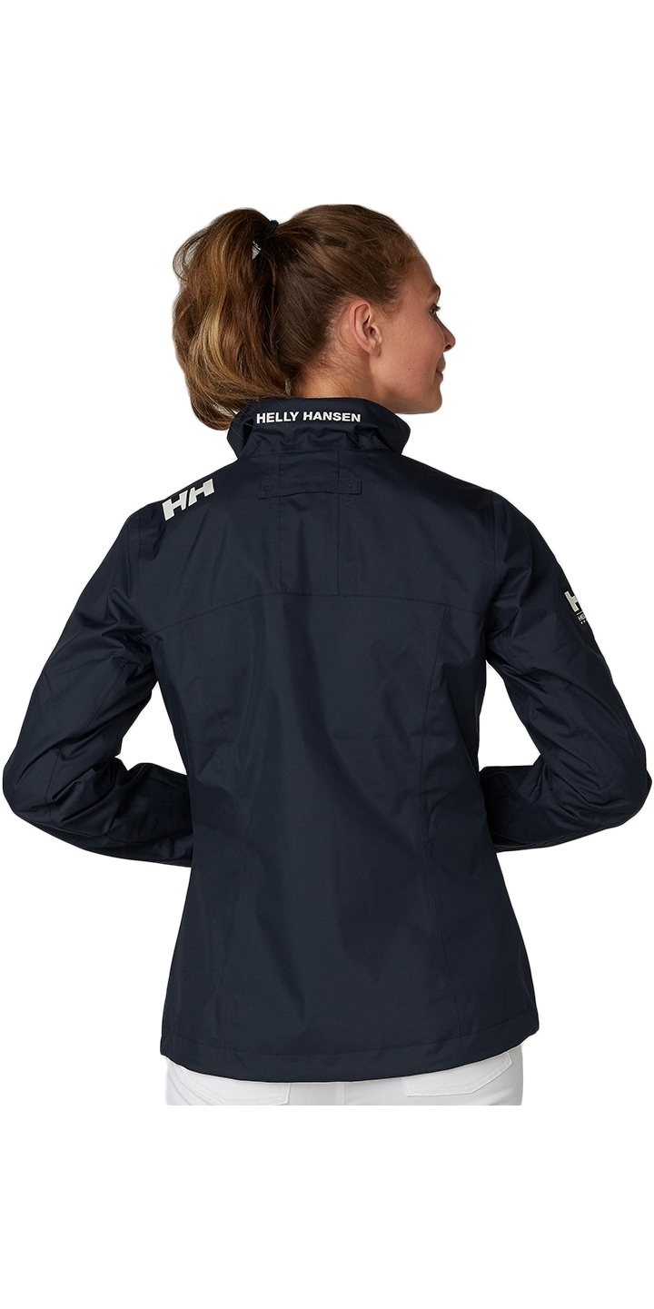 2020 Helly Hansen Womens Mid Layer Crew Jacket Navy 30317