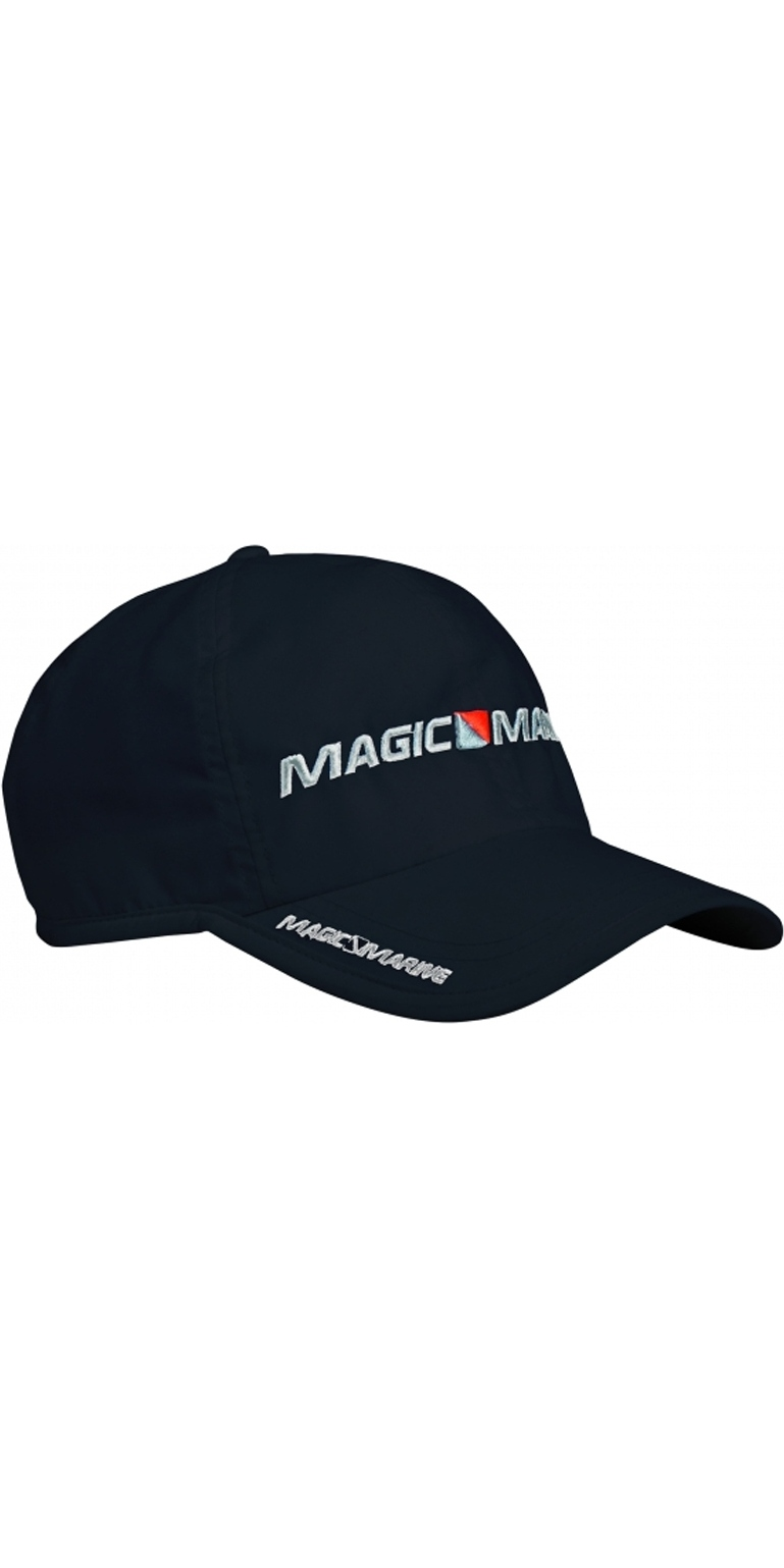 2020 Magic Marine Sailing Snap Back Cap Black 160590