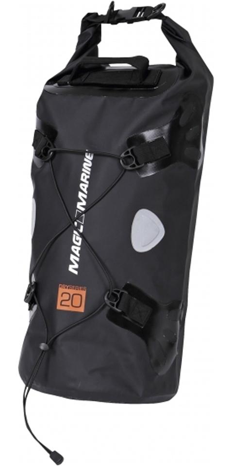 2020 Magic Marine Waterproof Duffle Bag 20L Black 120830