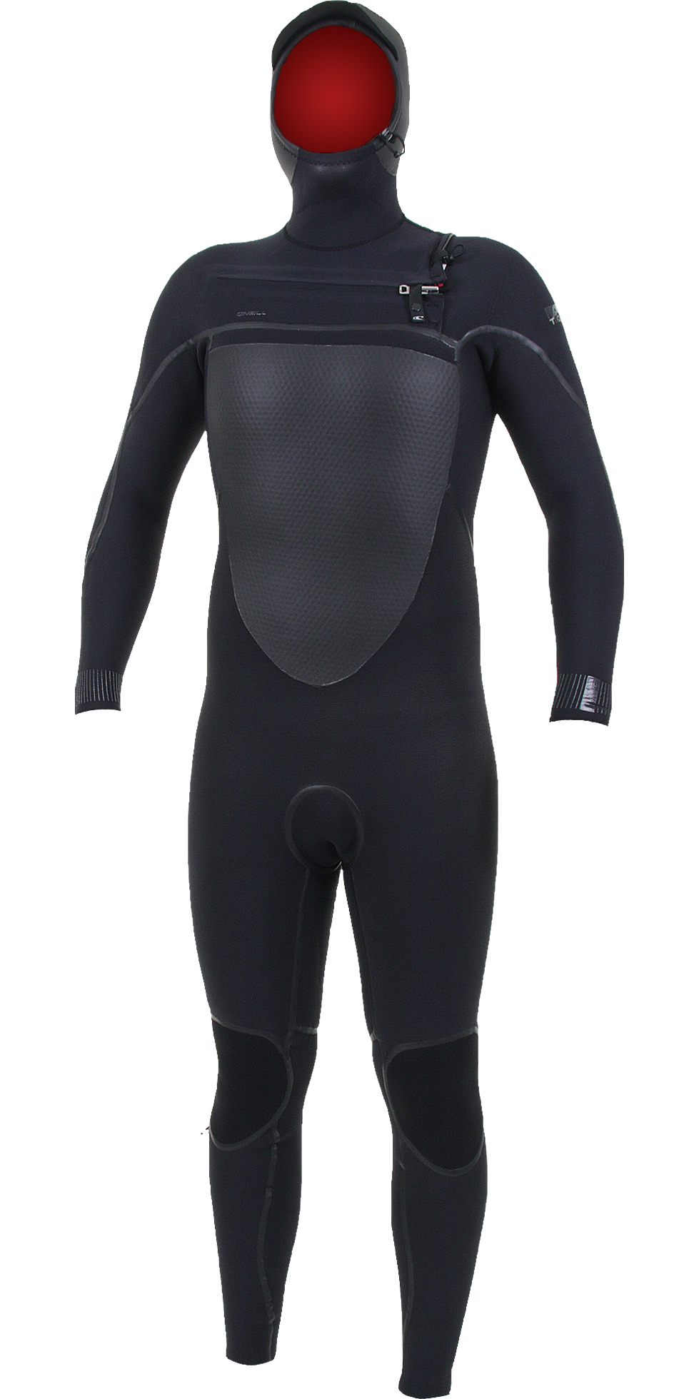 2019 O'Neill Psycho Tech 6/4mm Chest Zip Hooded Wetsuit Black 5366