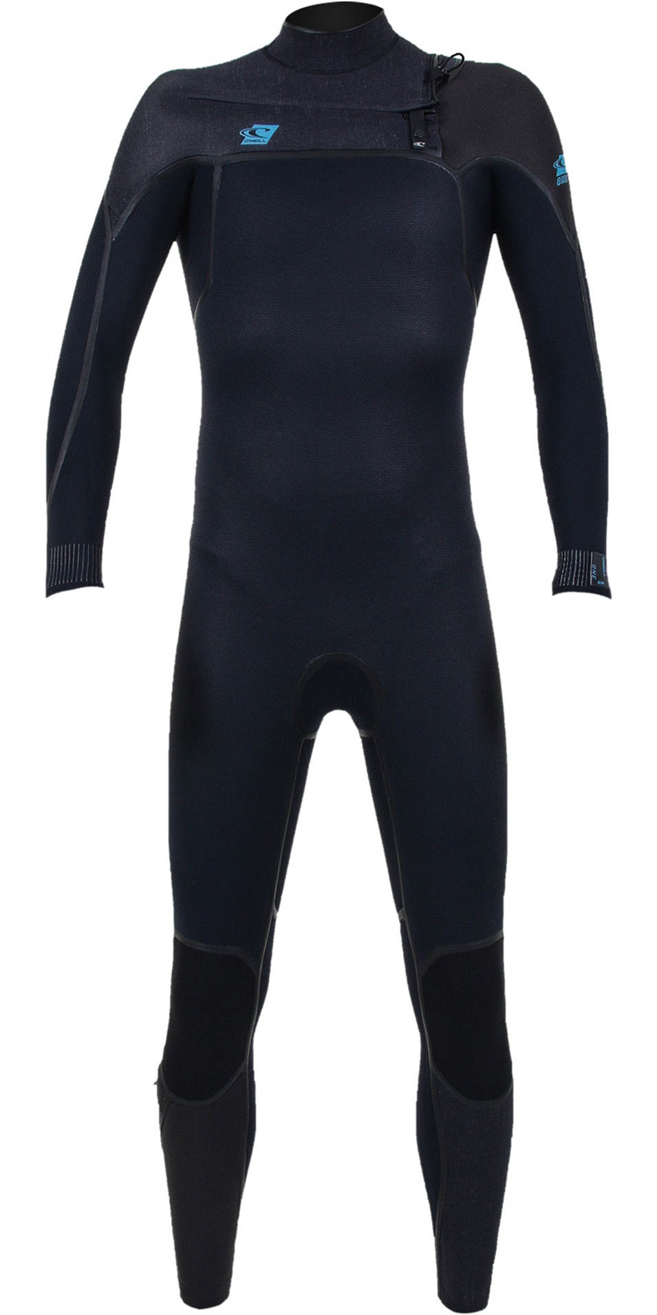 2020 O'Neill Youth Psycho One 5/4mm Chest Zip Wetsuit Abyss / Acid Wash / Raven 4995