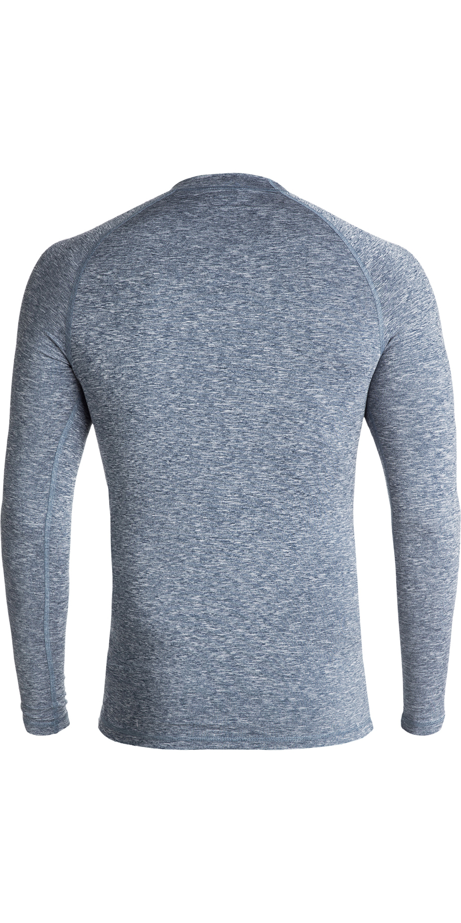 2019 Quiksilver All Time Long Sleeve Rash Vest Dark Denim Heather EQYWR03137