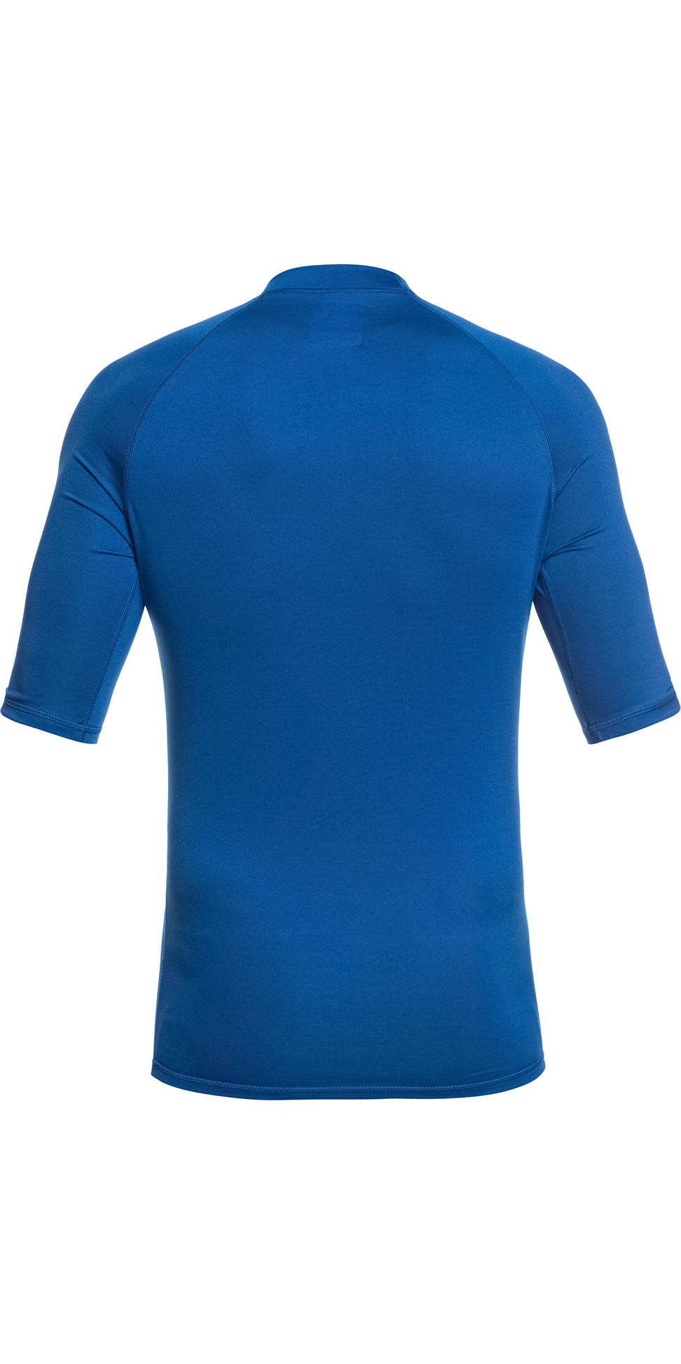 2019 Quiksilver All Time Short Sleeve Rash Vest Electric Royal Blue EQYWR03136