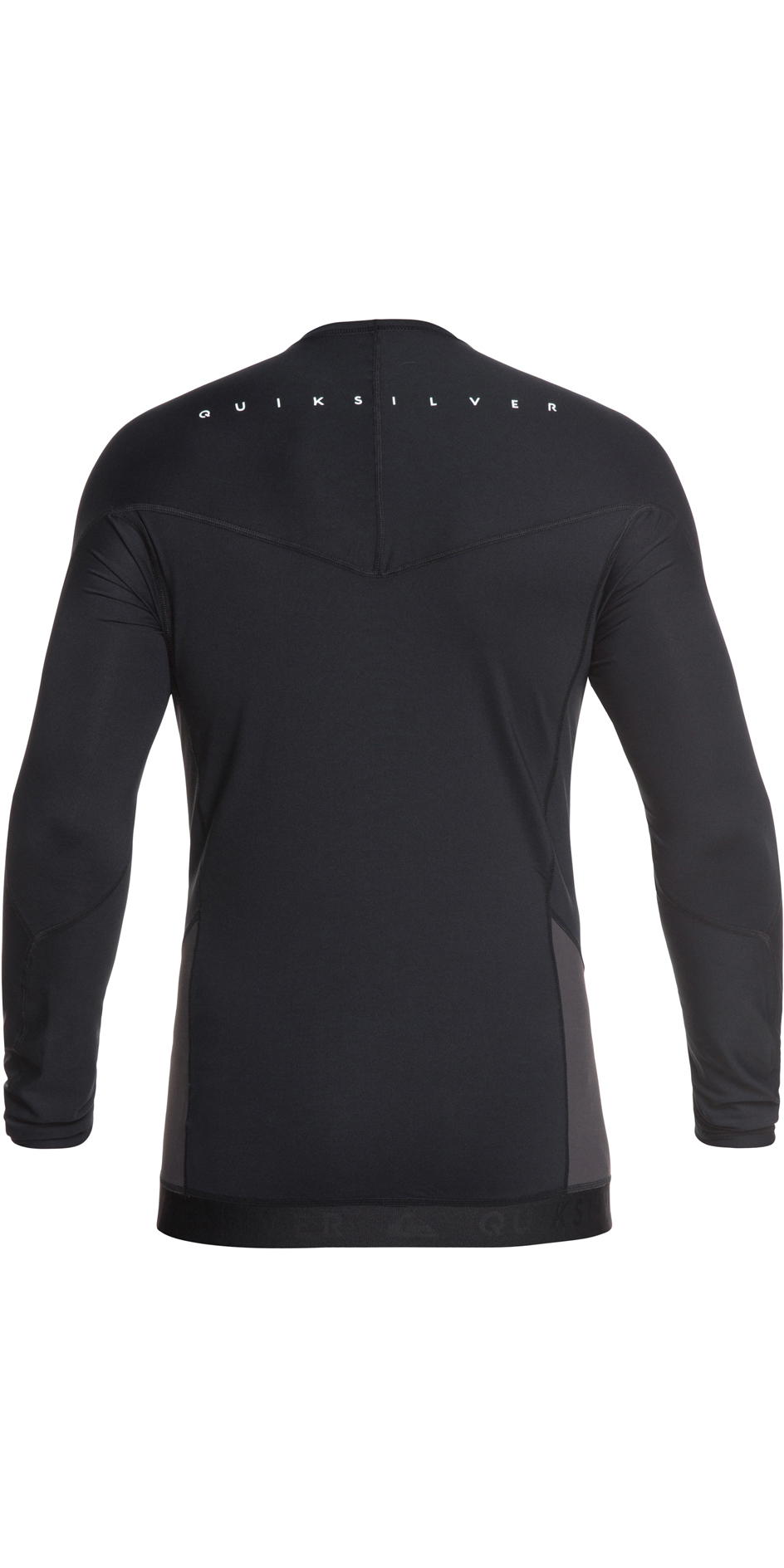 2019 Quiksilver Core Performer Long Sleeve Rash Vest Black EQYWR03157
