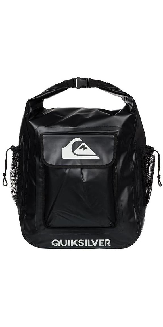 2019 Quiksilver Deluxe Wet Dry Back Pack 32L Black EGL00DELUX