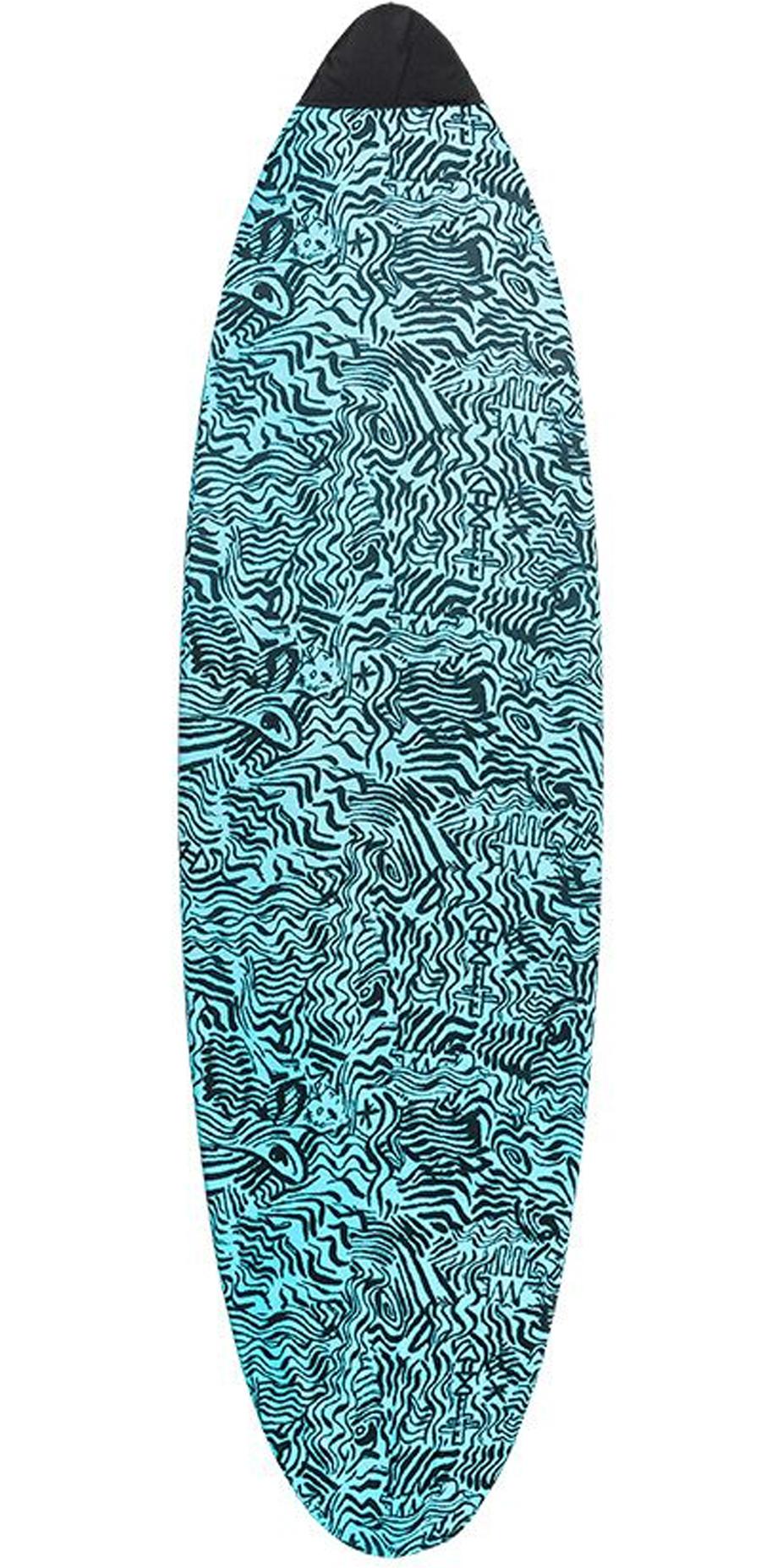 2019 Quiksilver EuroGlass Funboard Surfboard Sock 7