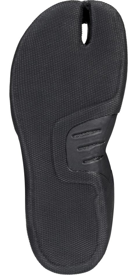 2019 Quiksilver Highline Plus 3mm Split Toe Wetsuit Boot Black EQYWW03029