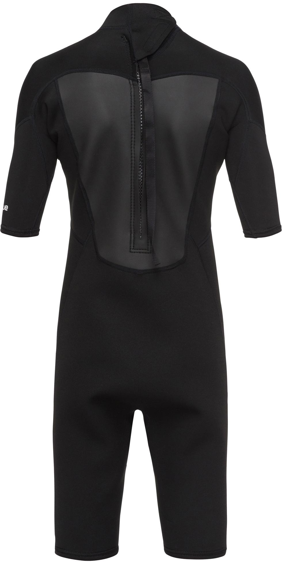 2019 Quiksilver Junior Prologue 2mm Shorty Wetsuit Black EQBW503008
