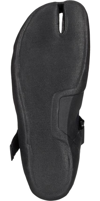 2019 Quiksilver Syncro 3mm Split Toe Wetsuit Boot Black EQYWW03010