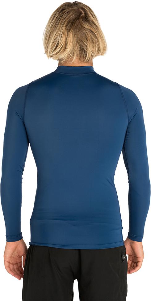 2019 Rip Curl Corpo Long Sleeve UV Tee Rash Vest Navy WLE8QM