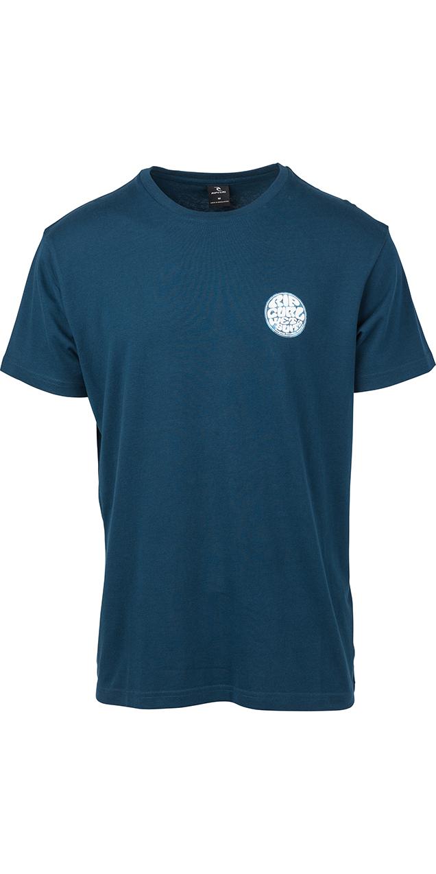 2019 Rip Curl Mens Rider T-Shirt Navy CTEIK5