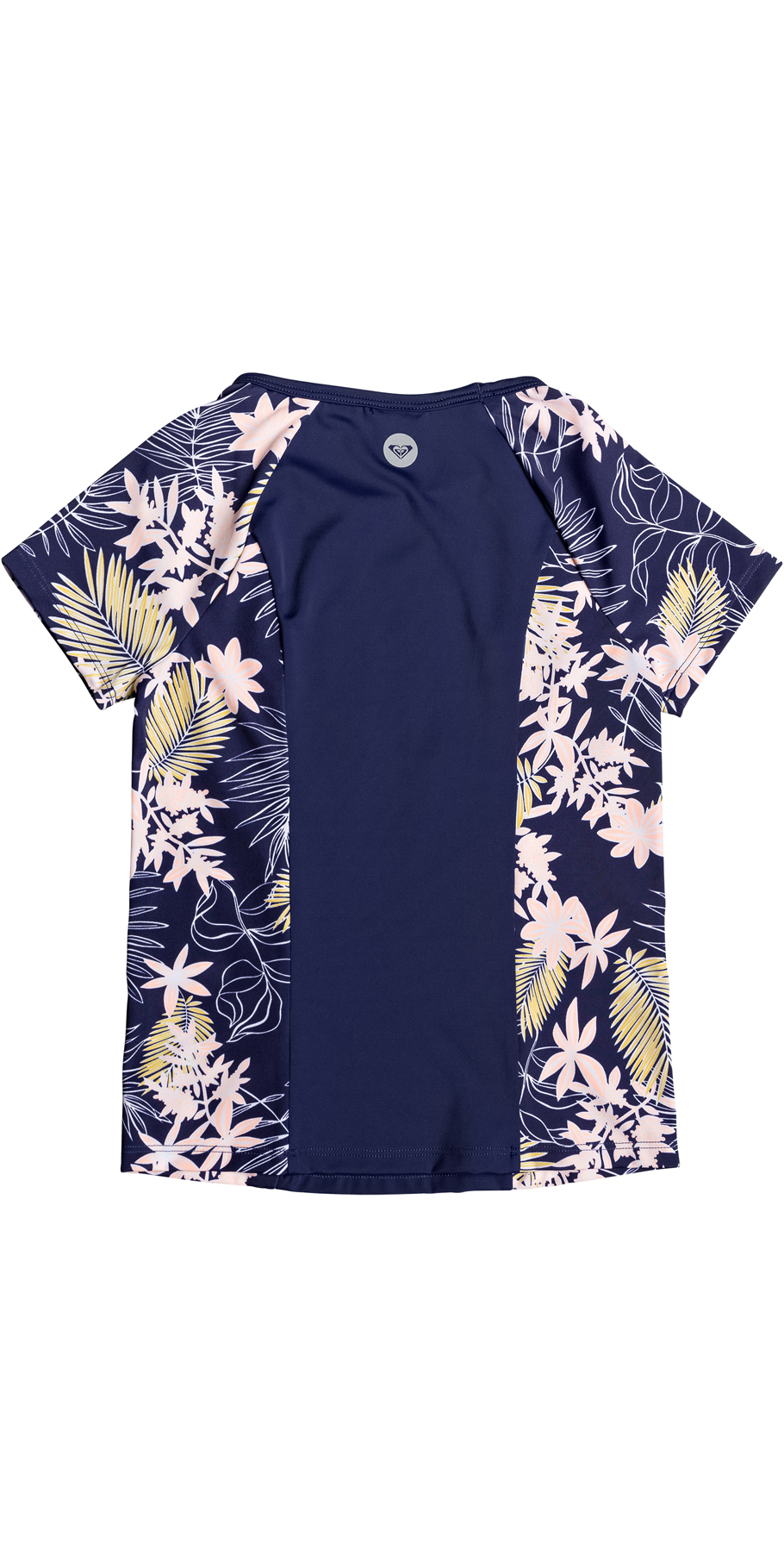 2019 Roxy Girls Short Sleeve Rash Vest Medieval Blue ERGWR03124