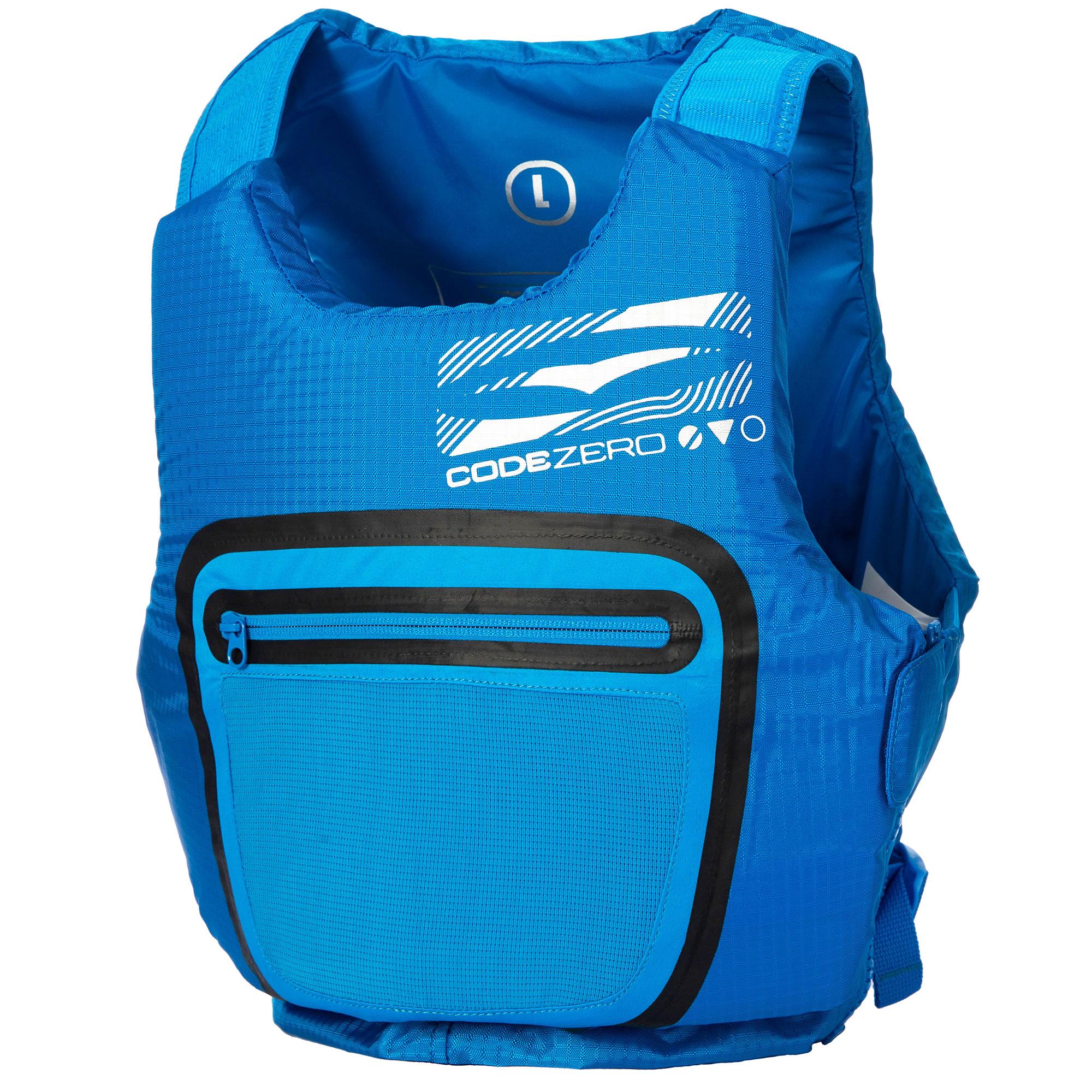 2019 GuL Junior Code Zero Evo 50N Buoyancy Aid GM0379-A9 - Blue