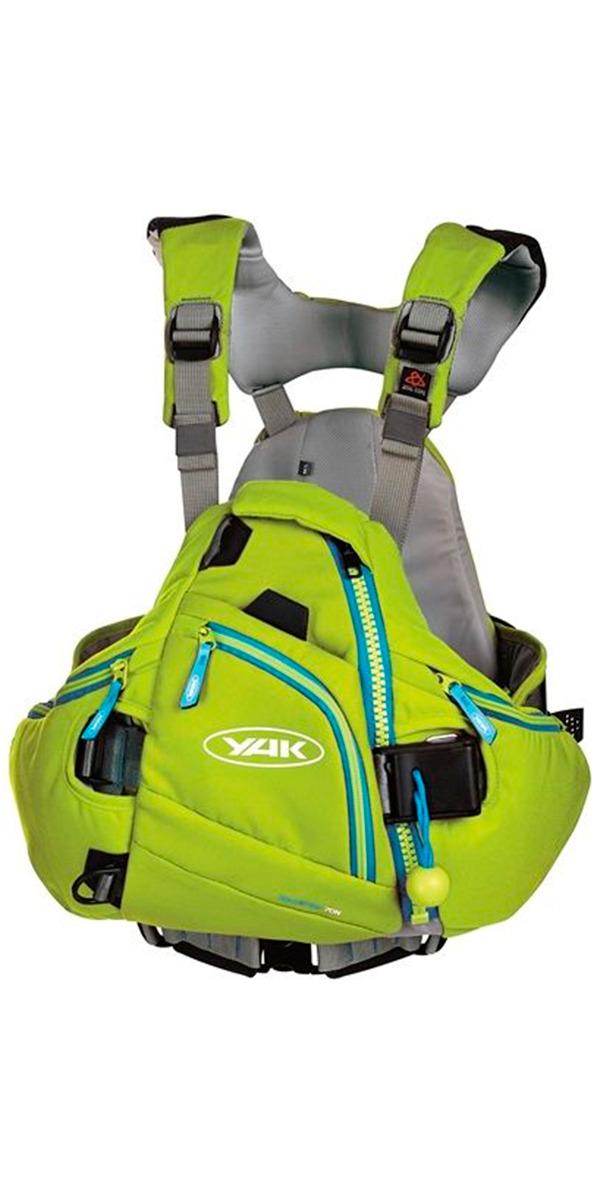 Yak Hallertau Kayak 70N Whitewater Buoyancy Aid - Green 2706
