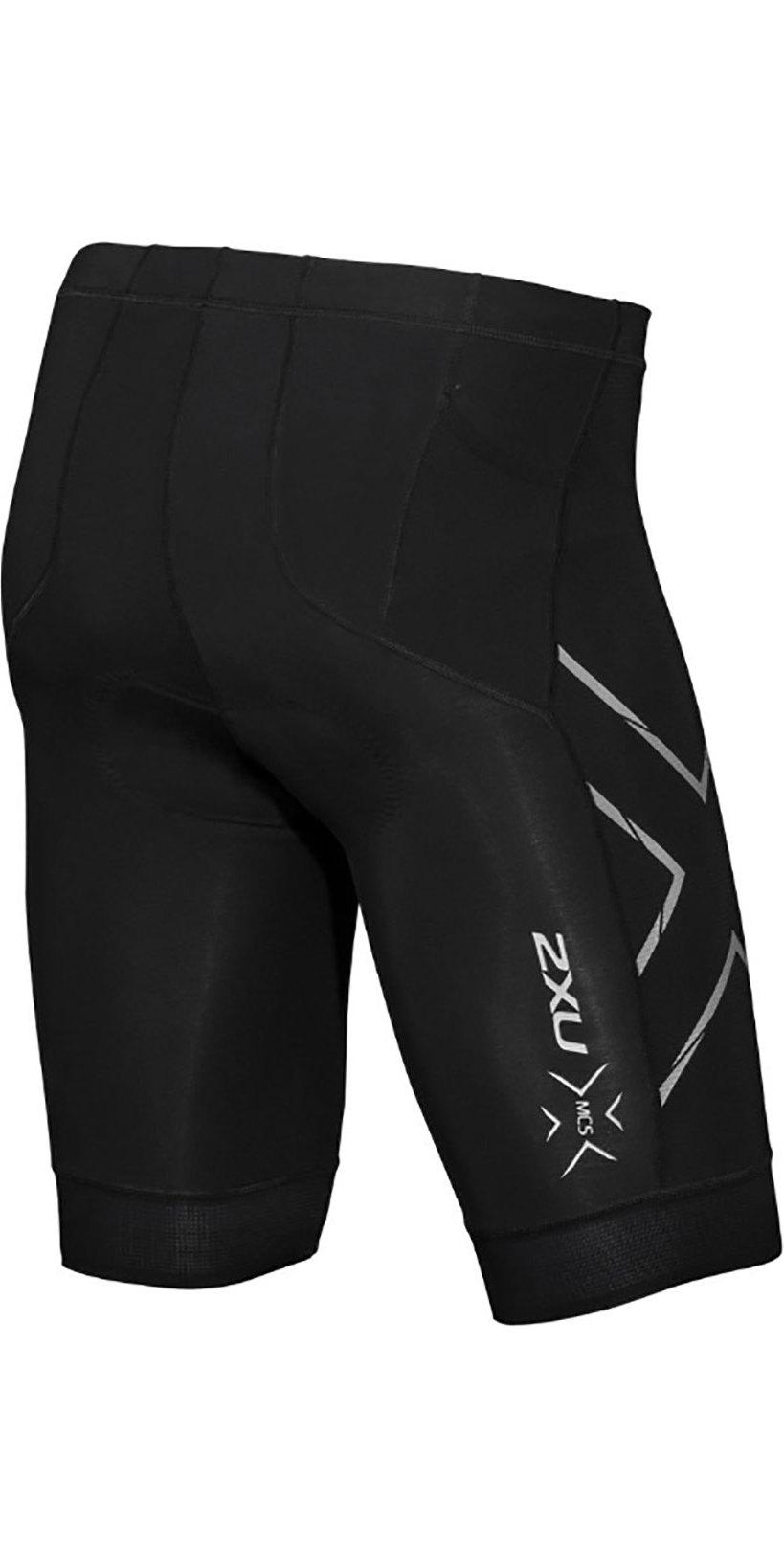 2019 2XU Mens Compression Tri Shorts Black MT5520b