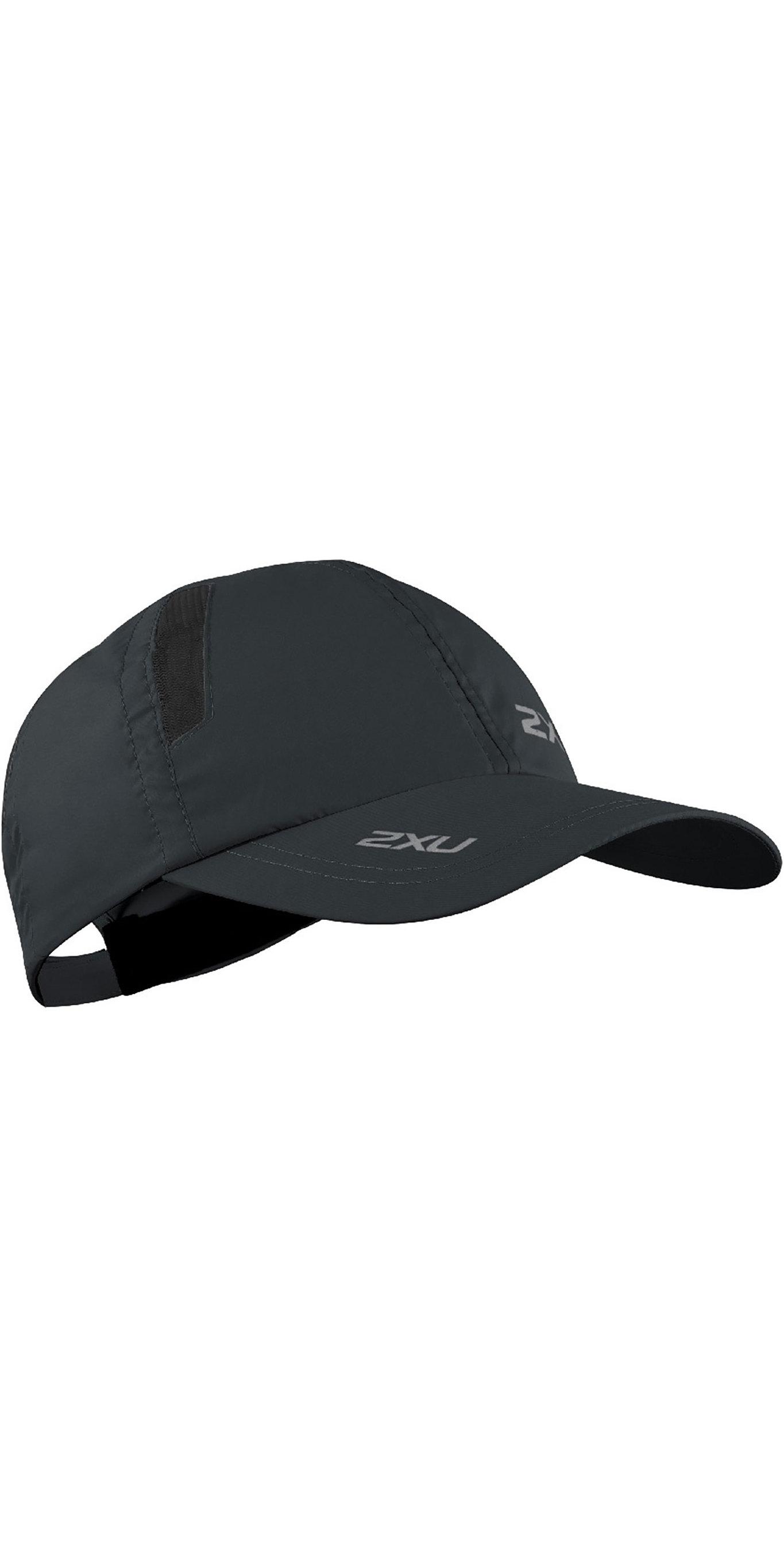 4c0dff3c3c1e7 2019 2XU Run Cap Black Uq5685f - Technical Hats Caps   Visors - Gloves  Hoods   Hats