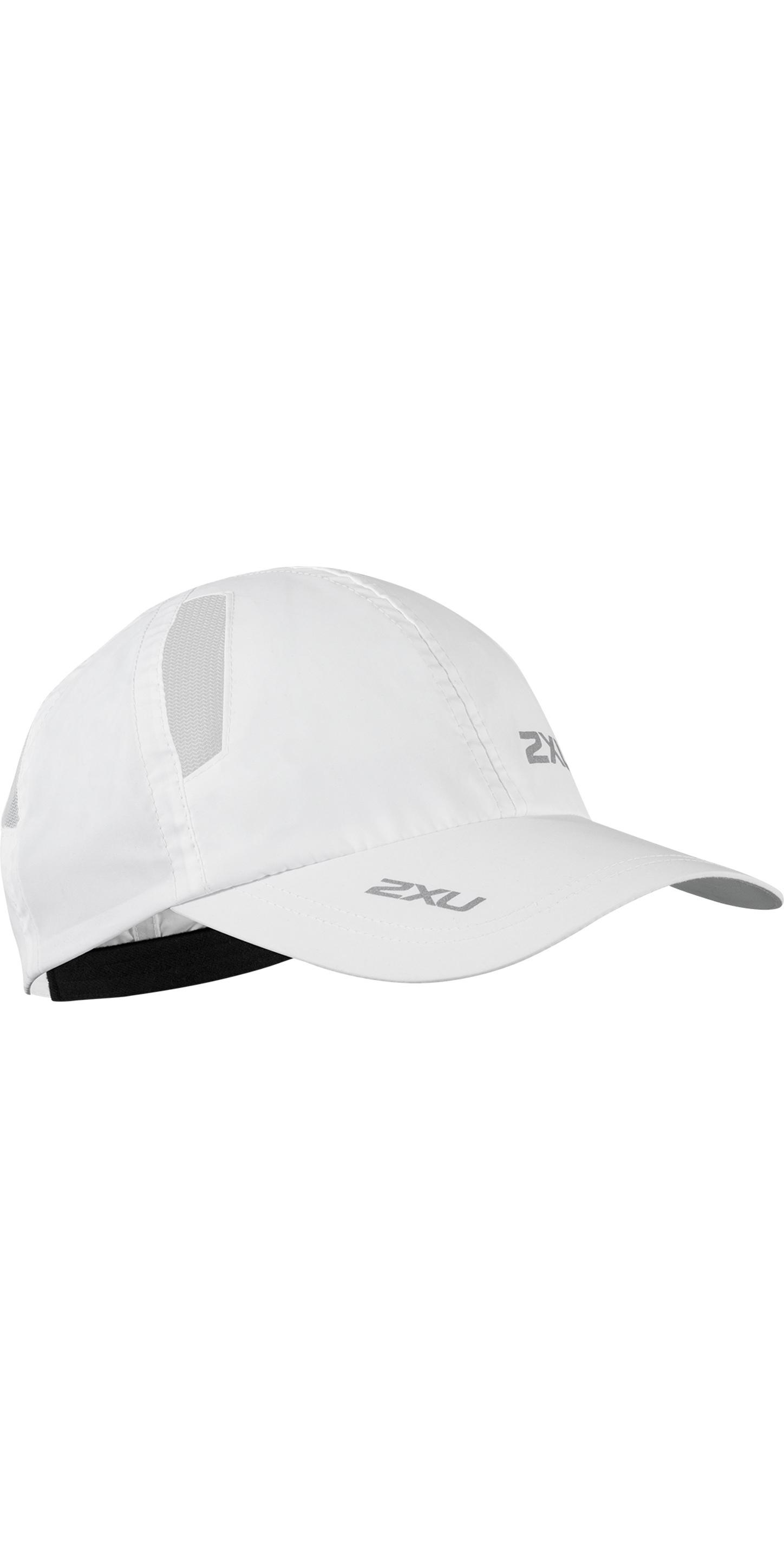 1eec8e8ad7c60 2019 2XU Run Cap White Uq5685f - Technical Hats Caps   Visors - Gloves  Hoods   Hats
