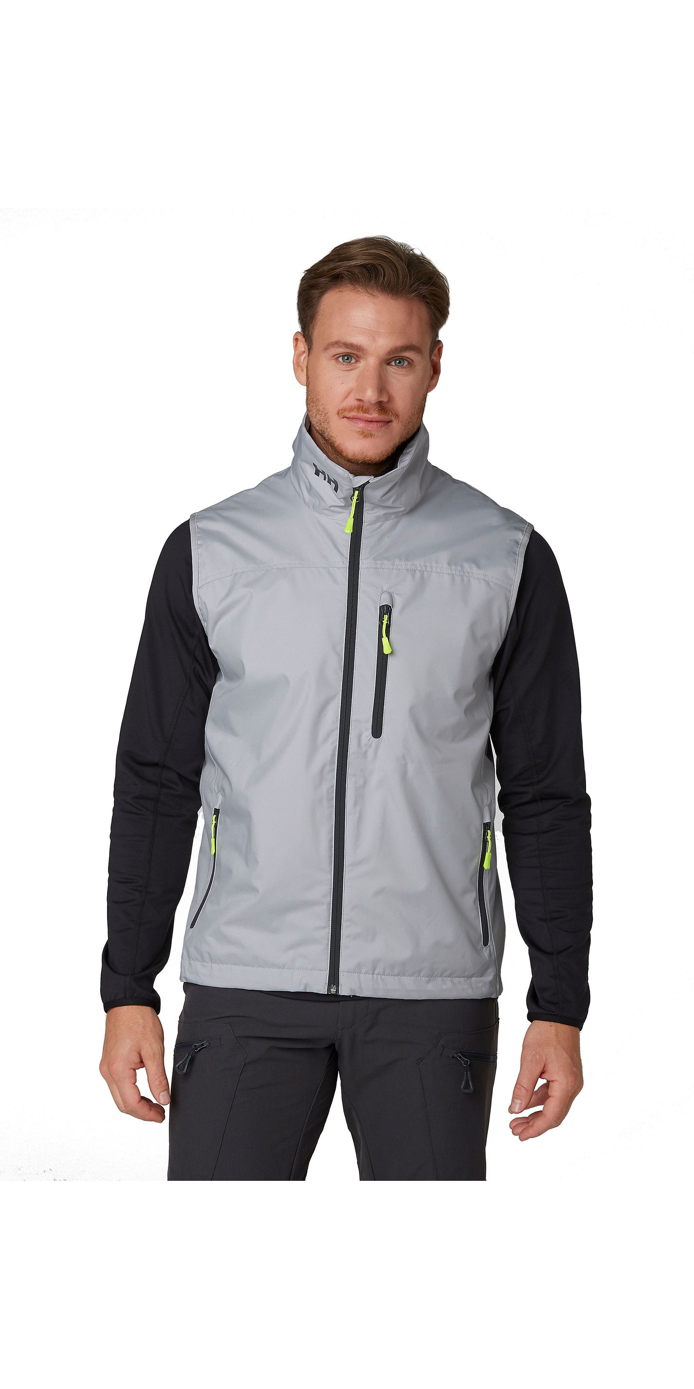 2019 Helly Hansen Mens Crew Vest Grey Fog 30270