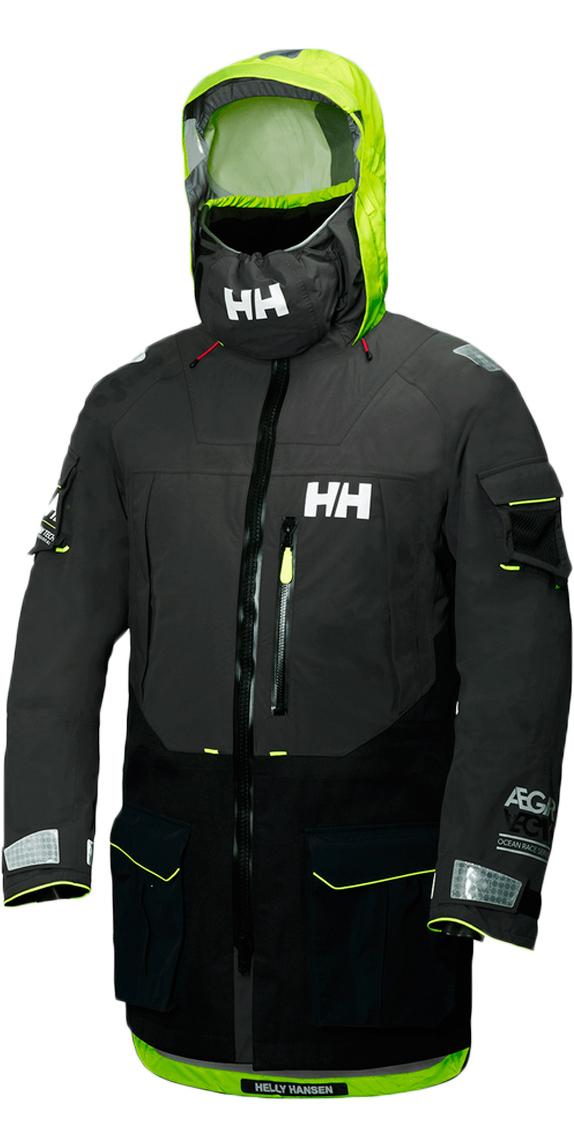 730b2e40d5 2019 Helly Hansen Aegir Ocean Jacket Ebony 30335 - Helly Hansen Sailing  Jackets - Jackets   Wetsuit Outlet