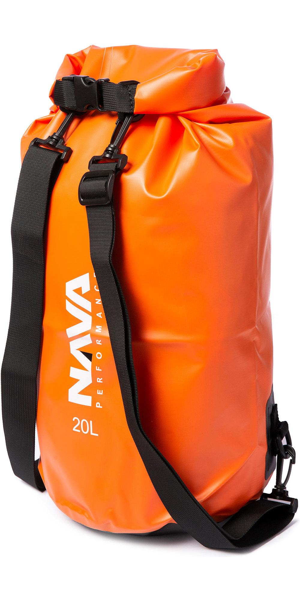 2020 Nava Performance 20L Drybag With Backpack Straps NAVA003 - Orange