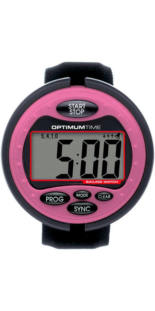 how to set optimum sailing watch