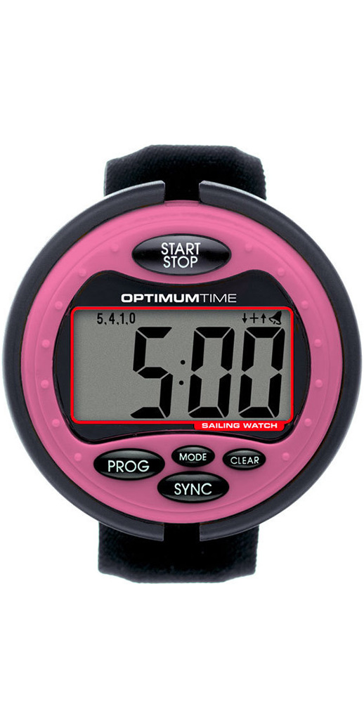 2020 Optimum Time Series 3 OS3 Sailing Watch PINK 319