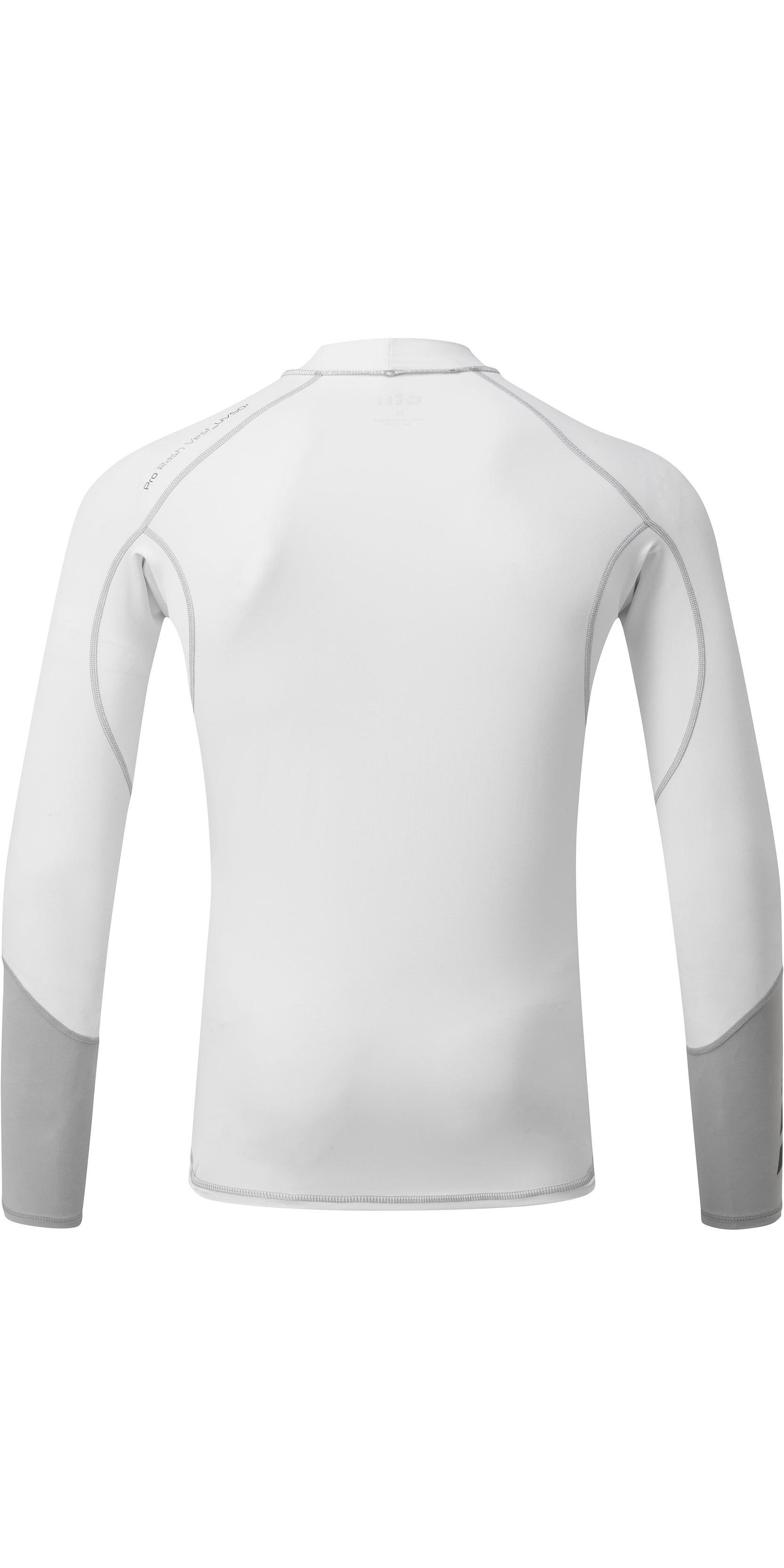 2018 Gill Pro Rash Vest WHITE 4430