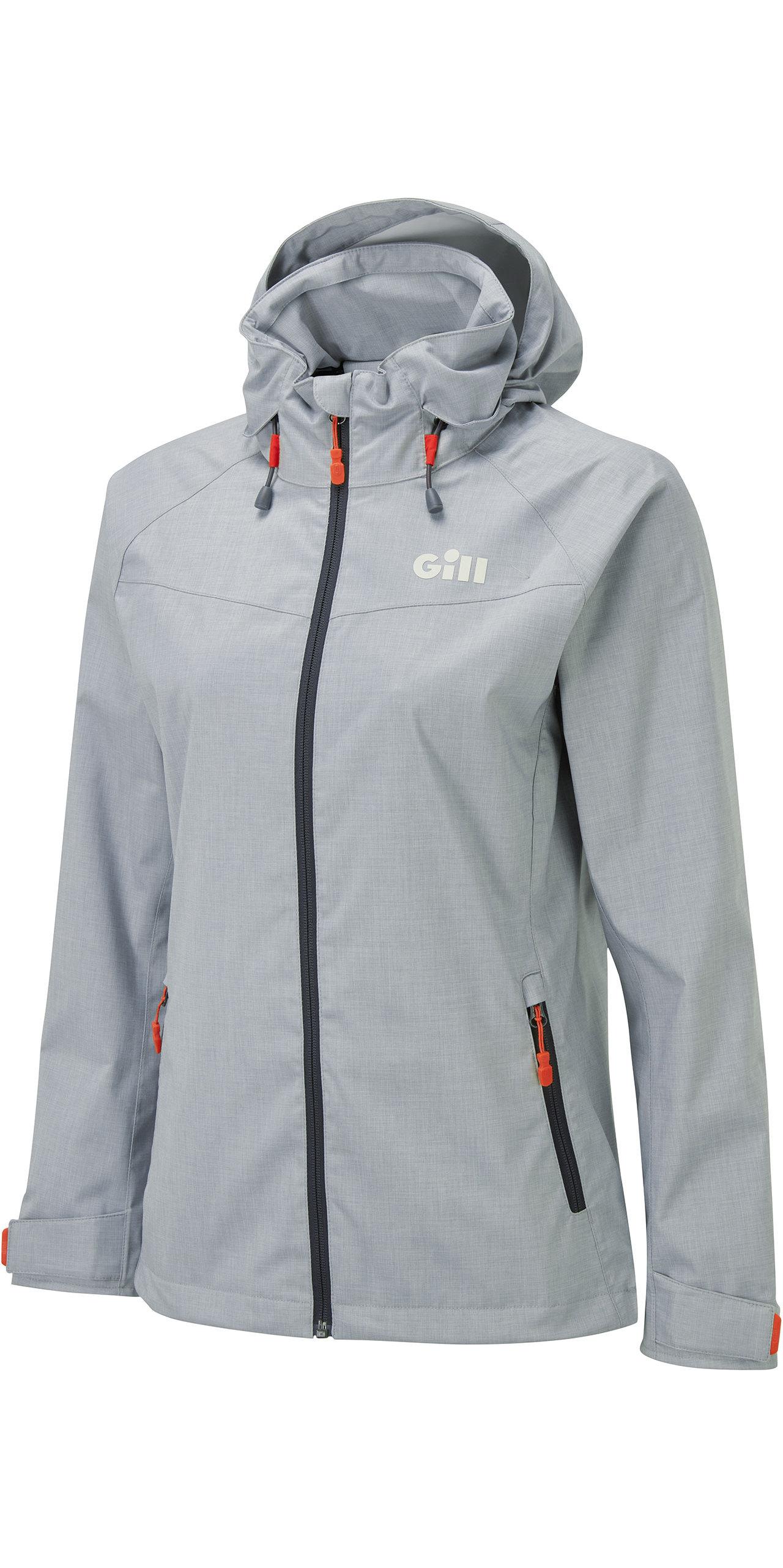 2020 Gill Womens Pilot Jacket IN81JW - Graphite Melange